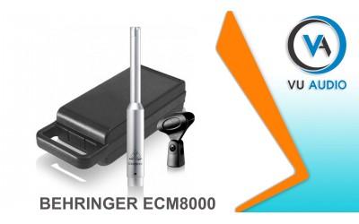 Micro RTA Behringer ECM 8000