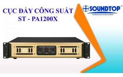 ST PA-1200X